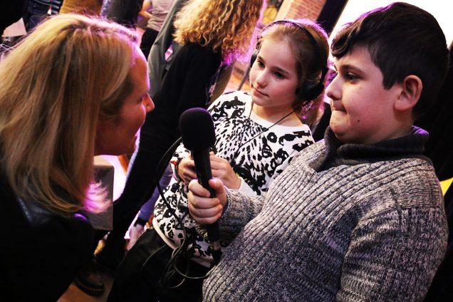 Radio maken met kinderen